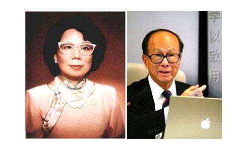 Li Ka Shing wife