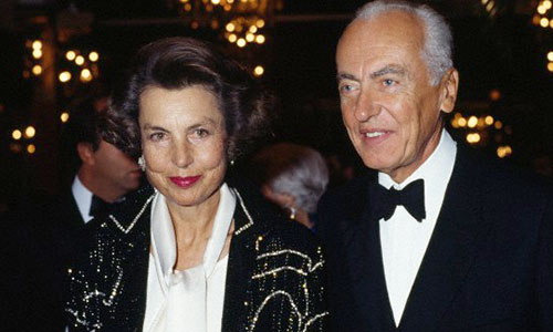 Liliane Bettencourt with gracious, endearing, friendly, Single