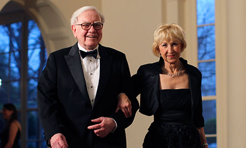 Image result for Warren Buffett and Astrid Menks