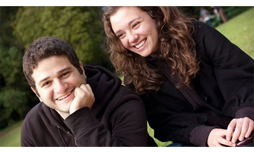 Dustin Moskovitz family