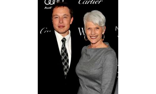 Elon musk mother