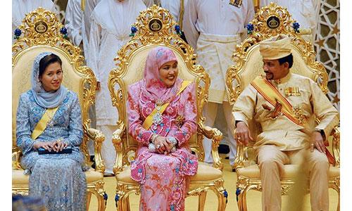 Sultan Hassanal Bolkiah family