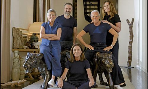 Armani family
