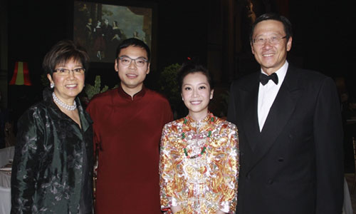 Bessie Woo, Alan Lo, Yenn Wong and Peter Woo