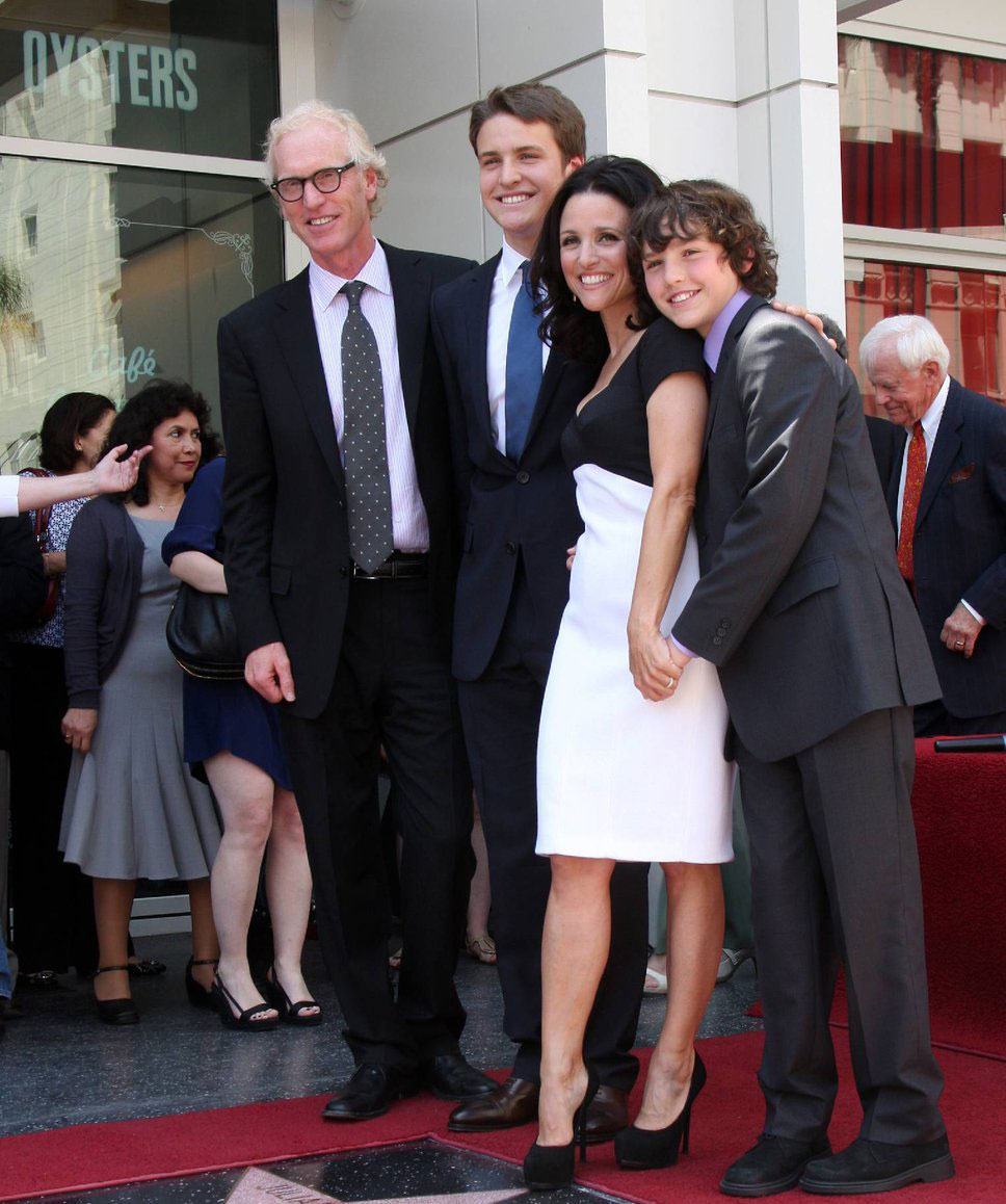 Julia Louis Dreyfus family