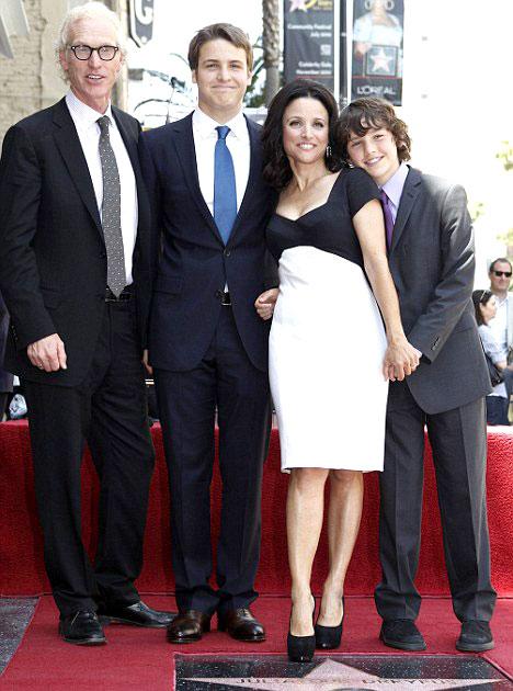 Julia Louis Dreyfus family