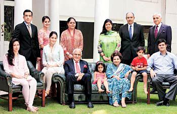 Kushal Pal Singh family