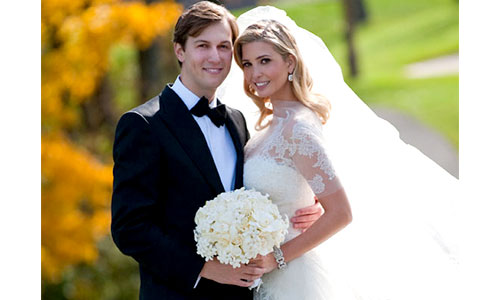 Marie Trump and Jared Kushner