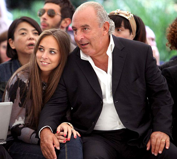 Philip Green and chole
