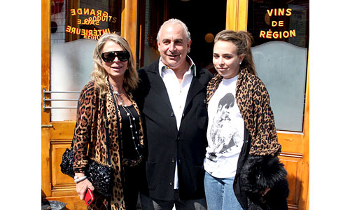 Philip Green family