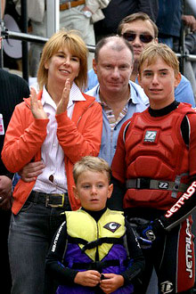 Vladimir Potanin family