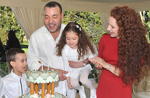 King-Mohammed-VI-family