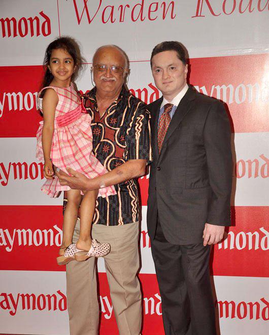 Gautam Singhania father