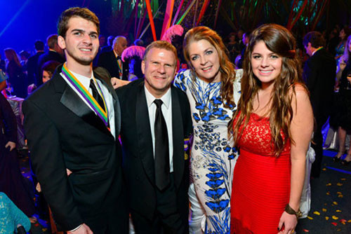 Tilman Fertitta Family