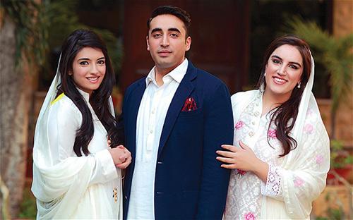 Benazir-Bhutto-children