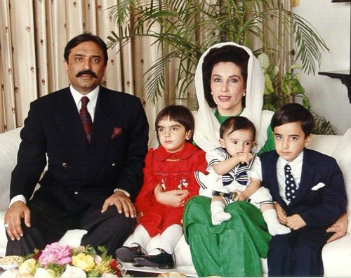 Benazir-Bhutto-family
