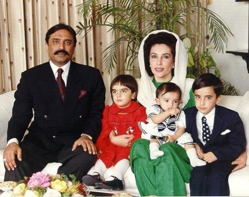 Benazir-Bhutto-family