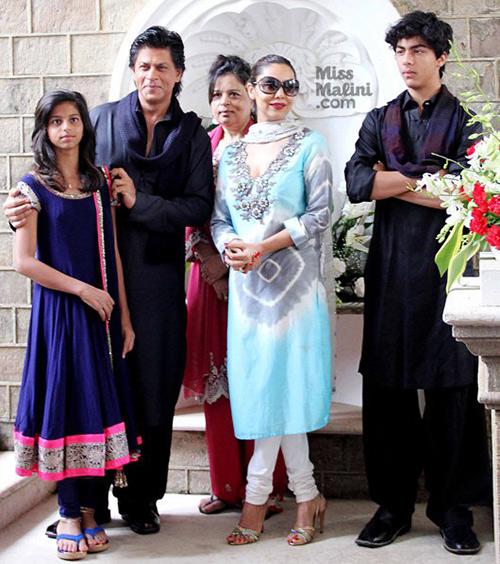Shah-Rukh-Khan-family