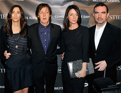Sir Paul McCartney Family