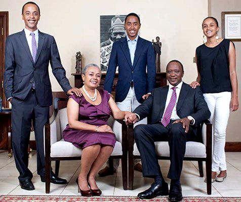 uhuru-kenyatta-family