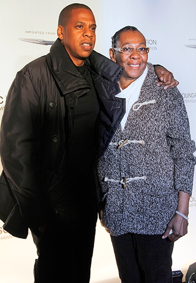Jay Z Parents     Gloria Carter and Adnes ReevesJay Z Parents