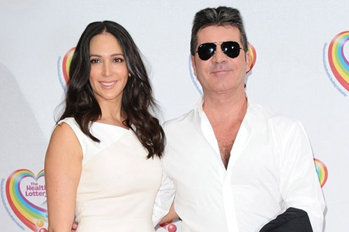 Simon-Cowell-and-Lauren-Silverman