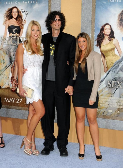 Photo of Howard Stern & his  Daughter  Deborah Jennifer Stern