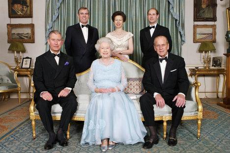 Queen Elizabeth ii Family