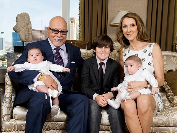 Celine Dion Fam... Celine Dion And Husband Age Difference