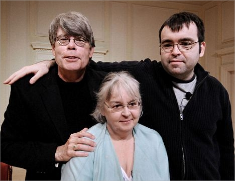 Stephen King withs Sons