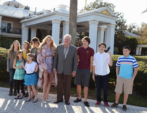 David Siegel family