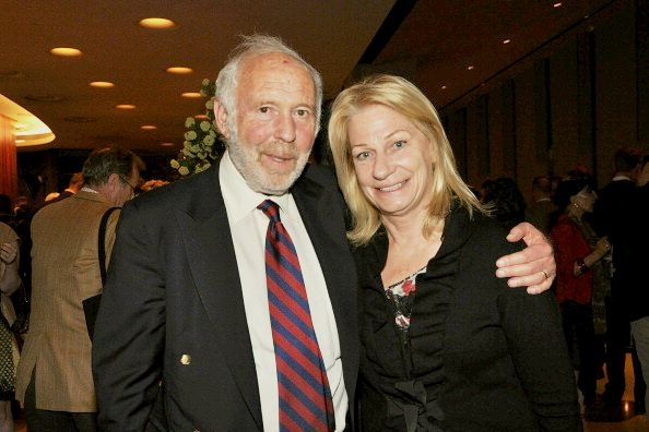 James Harris Simons with wife Marilyn Hawrys Simons