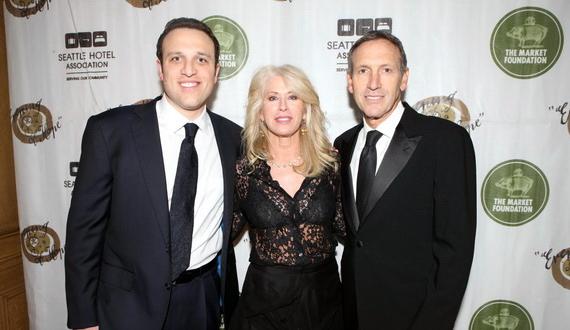 Howard Schultz Family