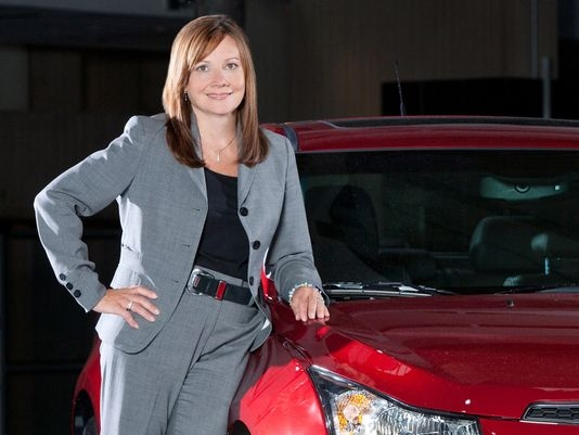 Mary Barra Family