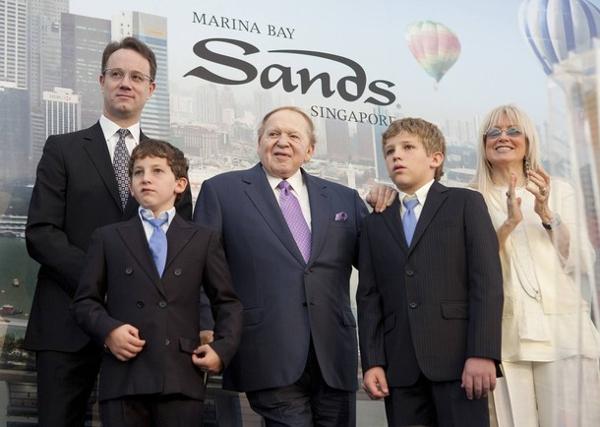 Sheldon Adelson Children