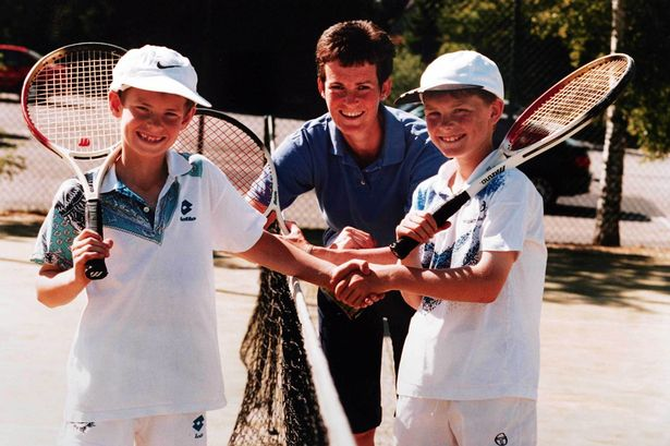 Andy Murray Childhood