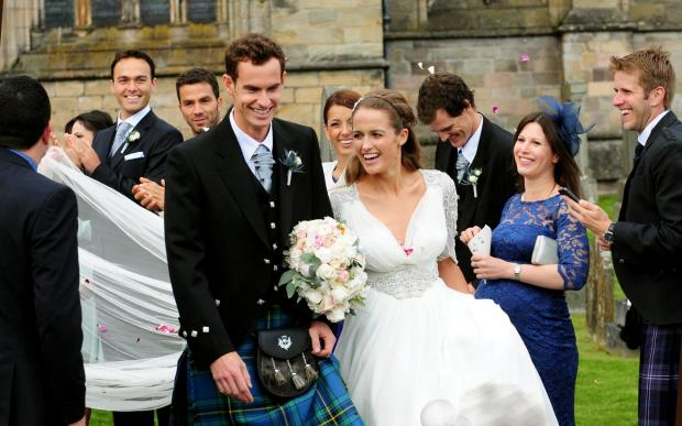 Andy Murray Marriage