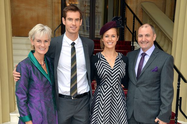 Andy Murray Parents