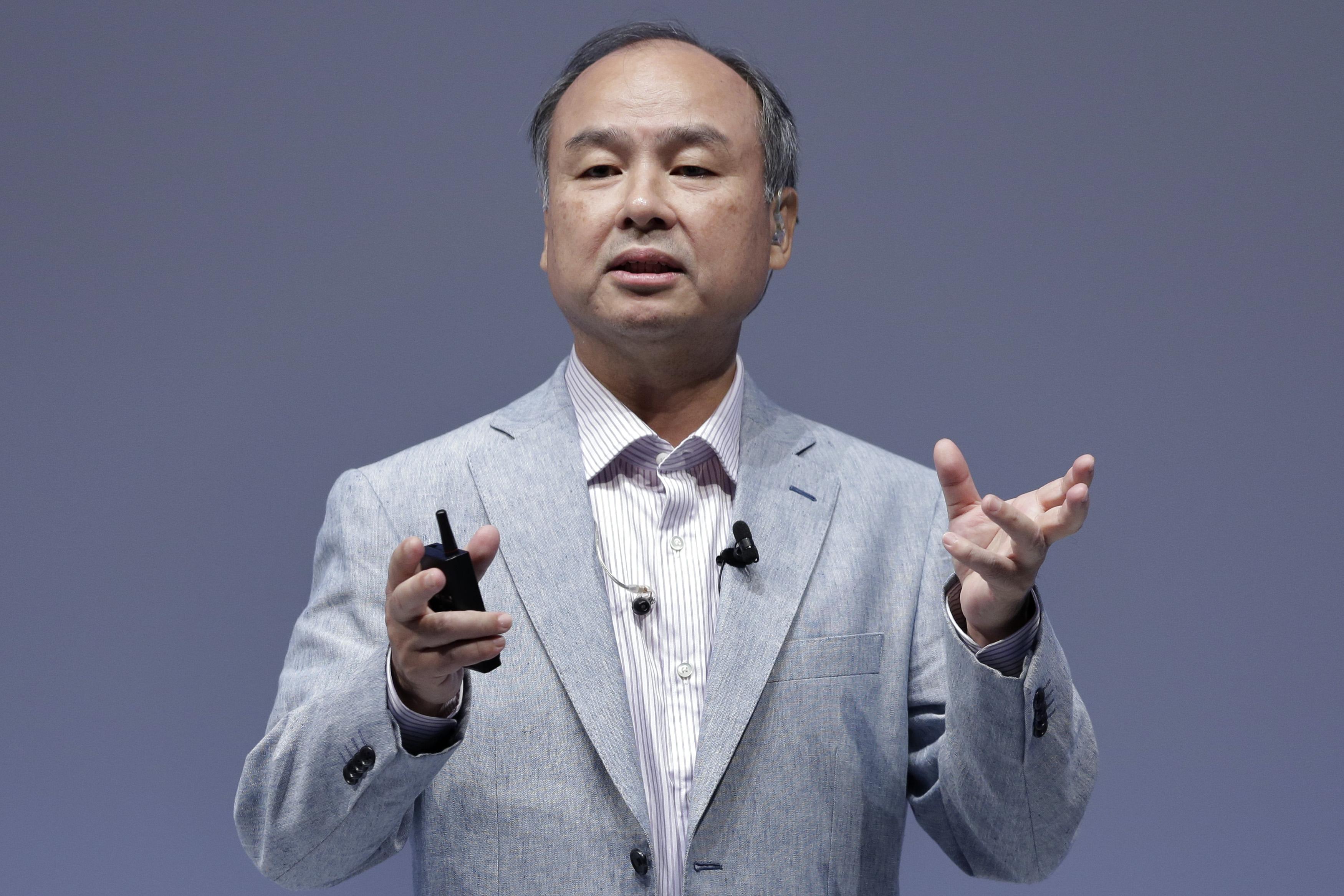 SoftBank Group Corp. Chairman Masayoshi Son Speaks At SoftBank World 2015