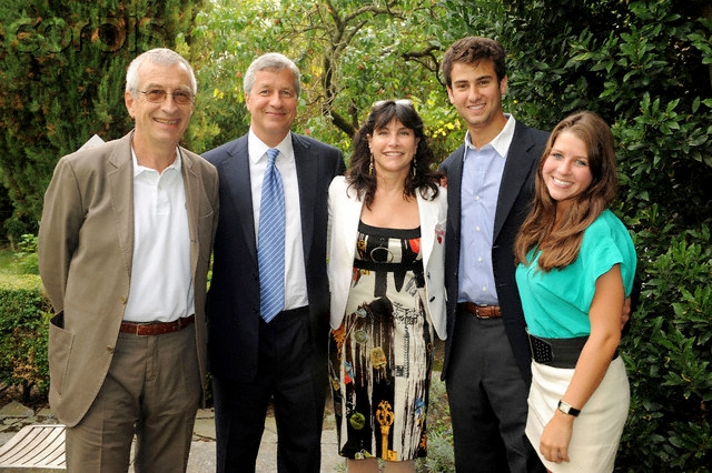 Jamie Dimon Family