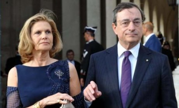 Mario Draghi wife