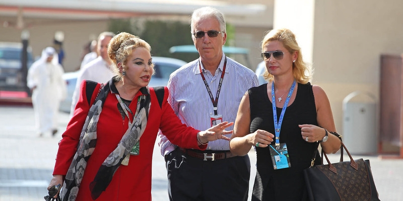 Piero Ferrari Family