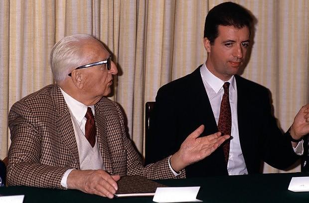 Piero and Enzo Ferrari