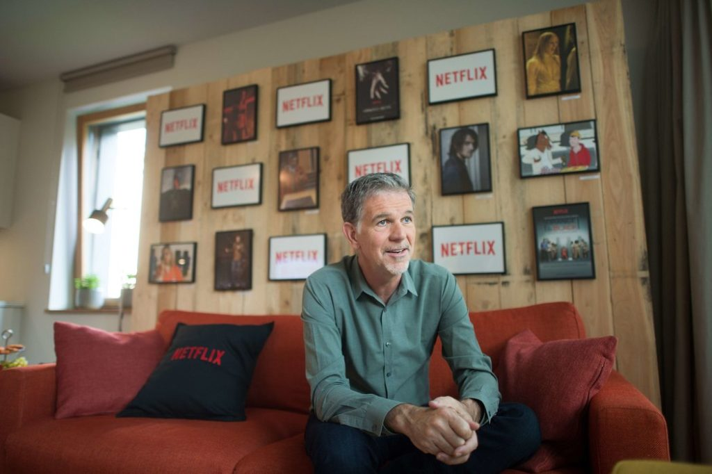 Reed Hastings Career
