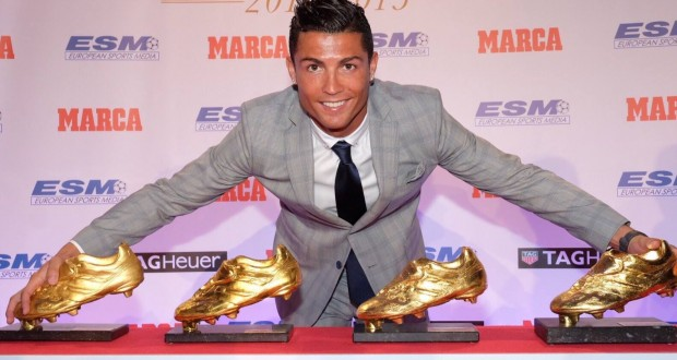 cr7 golden boots