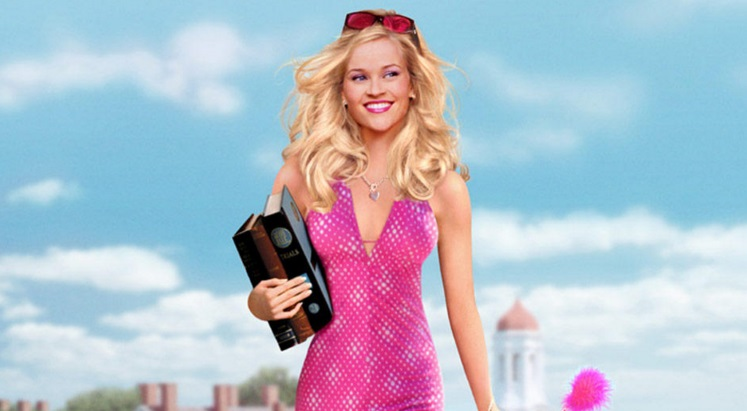 Laura Jeanne Reese Witherspoon in Legally Blonde