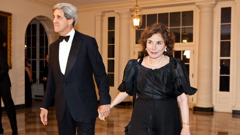 John Forbes Kerry Wife