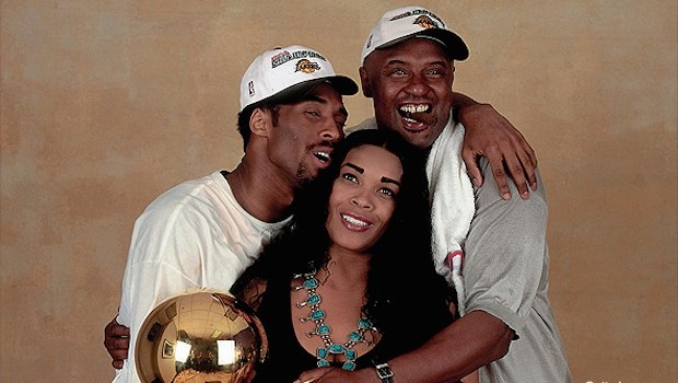 Kobe with His Parents