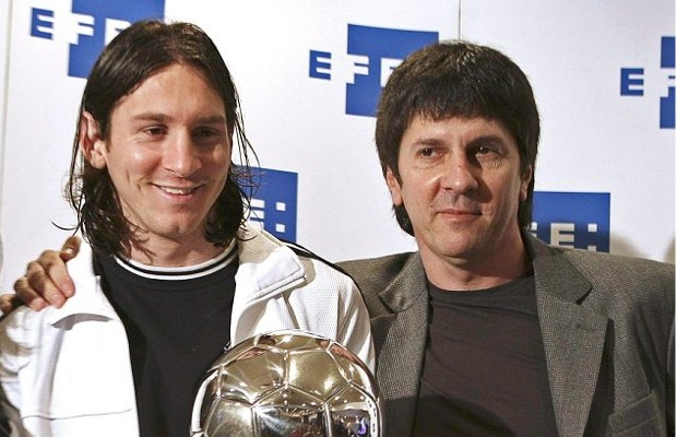 Messi With Father