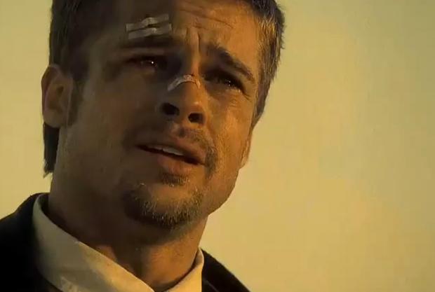Brad Pitt in Film Seven